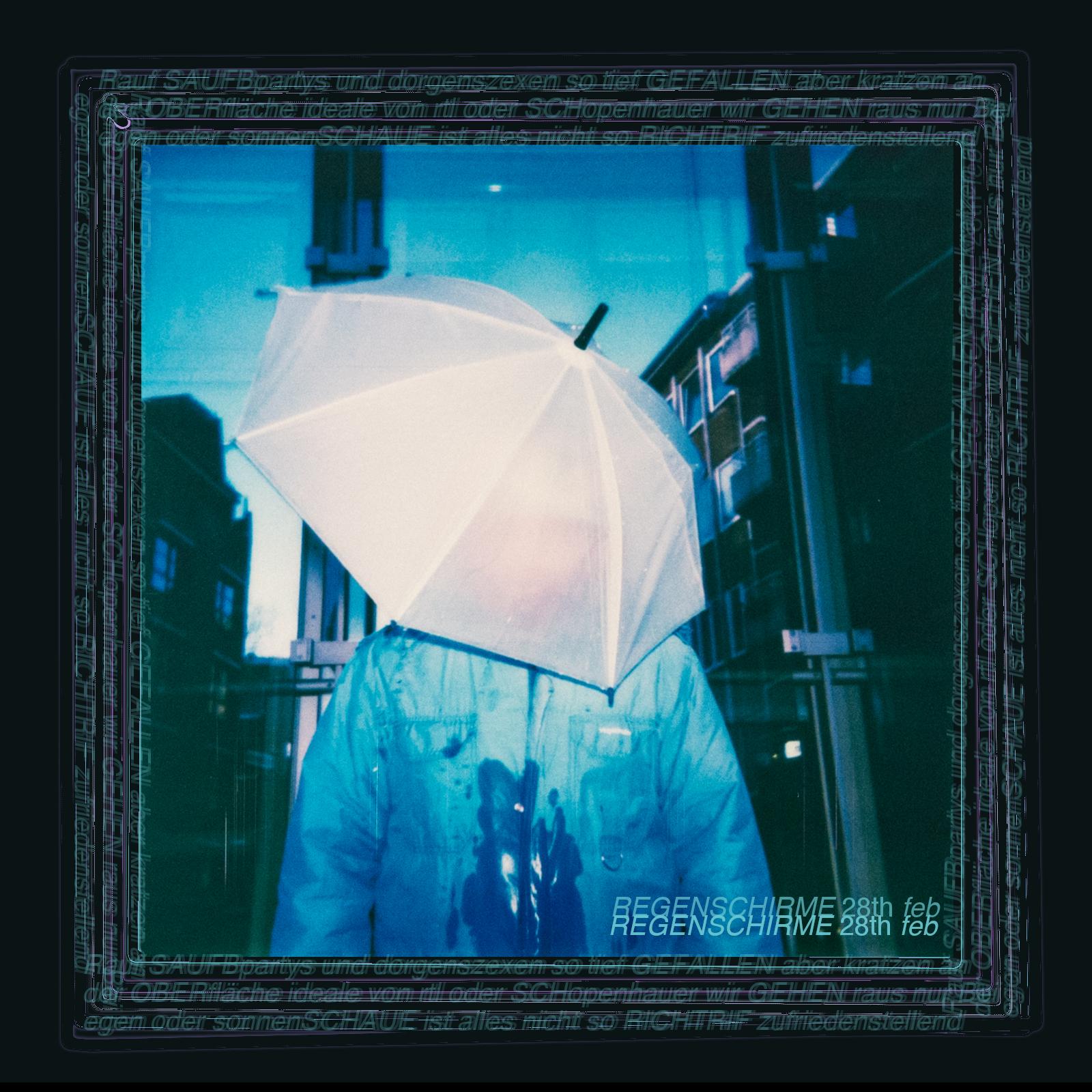 Regenschirme Cover
